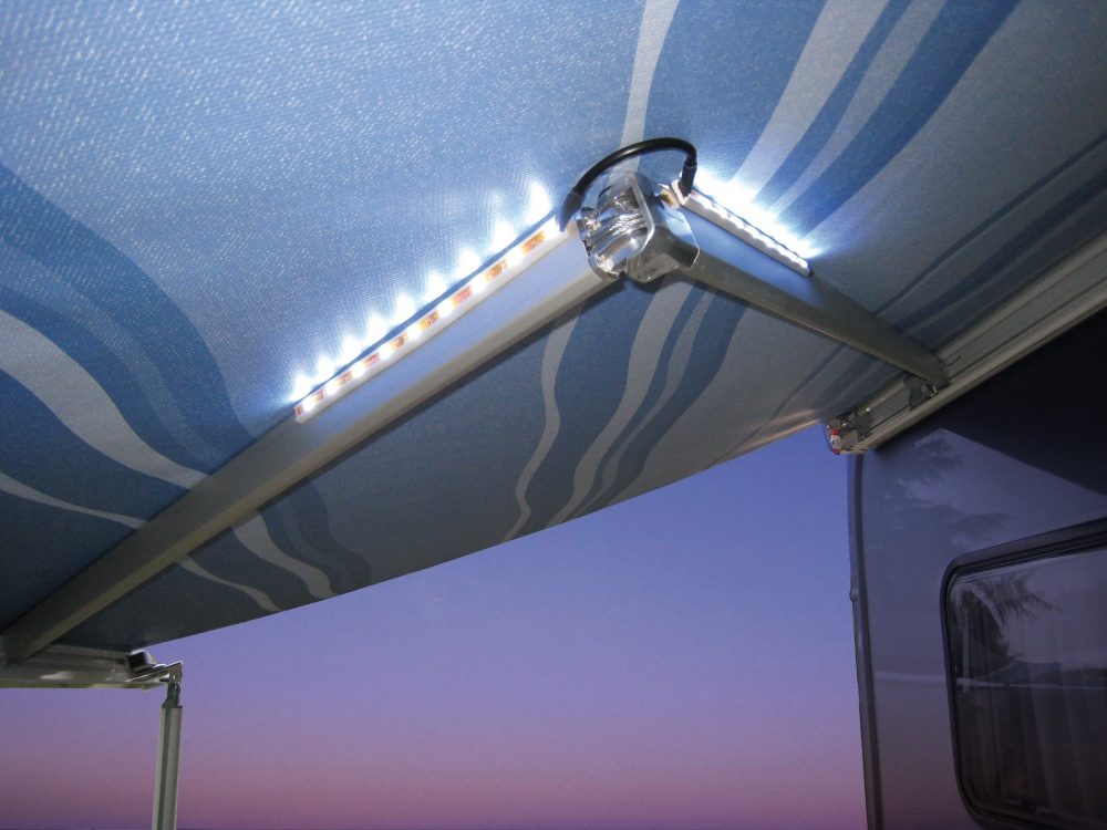 fiamma awning arms led lights. Black Bedroom Furniture Sets. Home Design Ideas